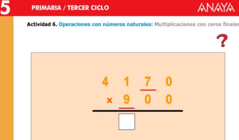 multiplicaciones con ceros finales