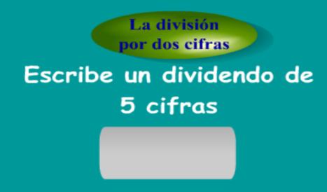 Dividir por tres cifras