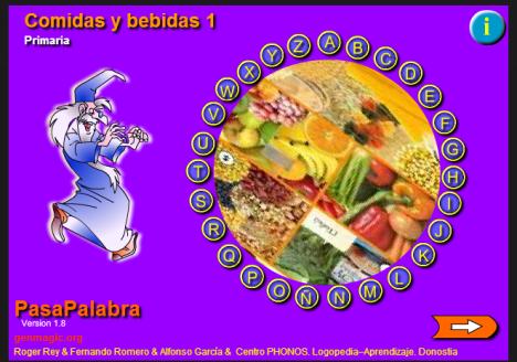 Resultado de imagen de pasapalabra COMIDAS Y BEBIDAS
